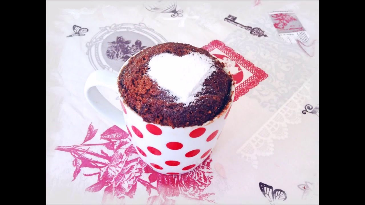 Cómo hacer un bizcocho de Nutella en una taza o Mugcake