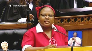 """I Speak For Women""  EFF MP Ngwenya"