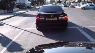 Bmw M5 E34 acceleration sound (Cyprus)