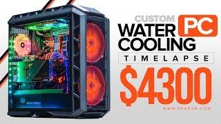 Timelapse Build | PC sử dụng tản nhiệt nước Custom trị giá 95 triệu đồng | GVN Golem 1080 Ti
