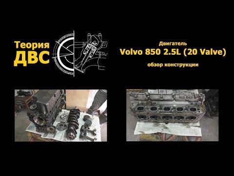 Теория ДВС: Двигатель Volvo 850 2.5L (20 Valve) обзор конструкции