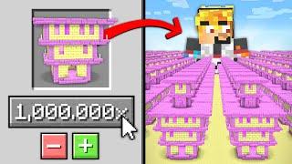 Minecraft svět kde je 1,000,000 END CITY...