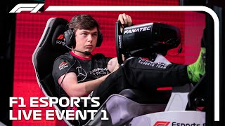 LIVE: F1 Esports Pro Series 2019 Event 1!