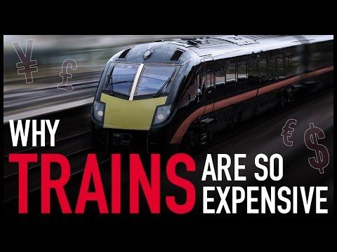 Proč jsou vlaky tak drahé?