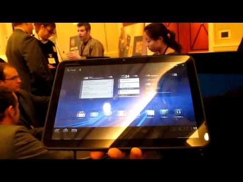 0 Motorola XOOM Android-Tablet mit Honeycomb & Tegra 2 ist da! [CES] [UPDATE2] Tablet Technology