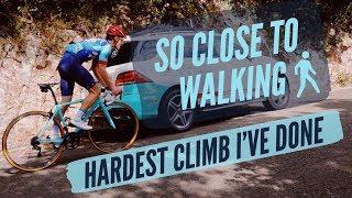 The Hardest Climb I