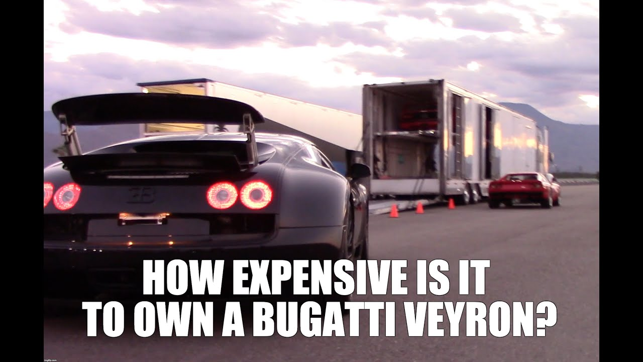 Turns Out It's Pretty Expensive To Own A Bugatti Veyron Super Sport