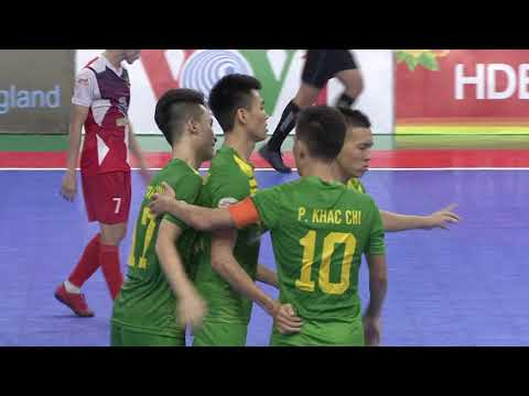 Giải futsal VĐQG 2019: Quảng Nam FC vs Sanna Khánh Hòa (1-2)