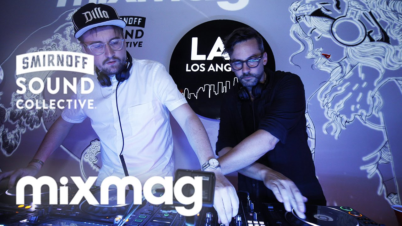 Machinedrum and Bonobo - Live @ Mixmag Lab LA 2016