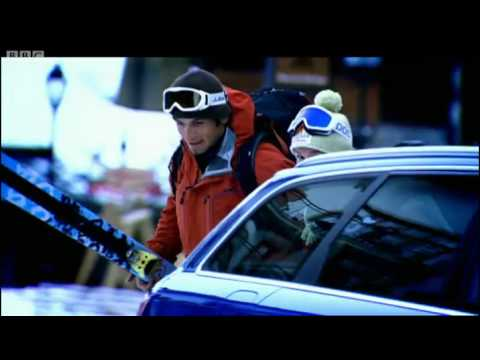 Hammond's Audi RS6 vs Skiers French Alps Race – Top Gear – BBC
