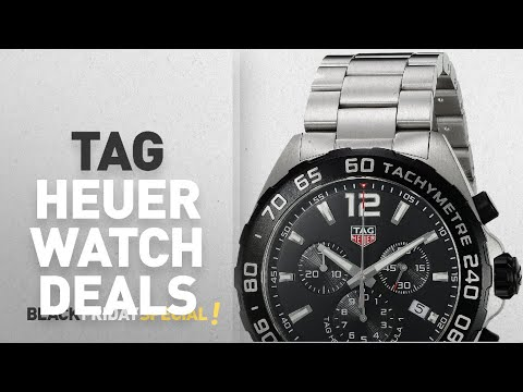 Top Black Friday Tag Heuer Watch Deals: Tag Heuer Formula 1 Men's Steel Chronograph Watch