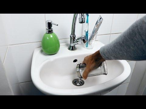 Abfluss verstopft, Hilfe! Abfluss reinigen und Verstopfung beheben mit Tipp für Rohrreiniger.