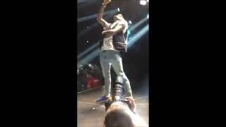 Chris Brown best moments One hell of a nite tour Sweden Ericsson Globe 2016