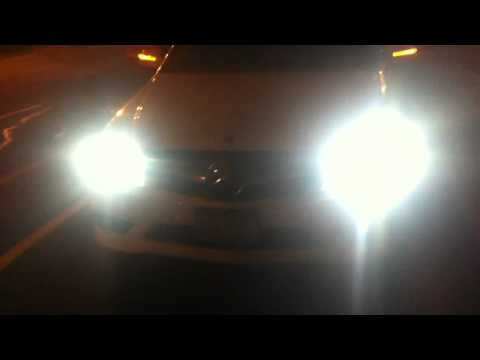 Mercedes C300 Turn Signals (white front, red rear) LED