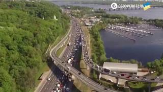 Пробка на Набережній - 11.05.2017