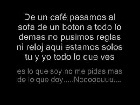 Yo no se mañana (con letra) Luis Enrique