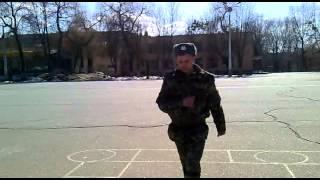 Строевая подготовка Мл.сержант Дрозд