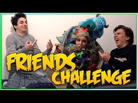 FRIENDS CHALLENGE CON ANIMA E SABRINA