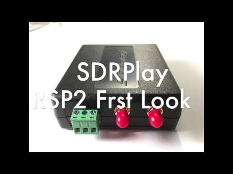 SDRPlay RSP2 First Look - hamradioscience
