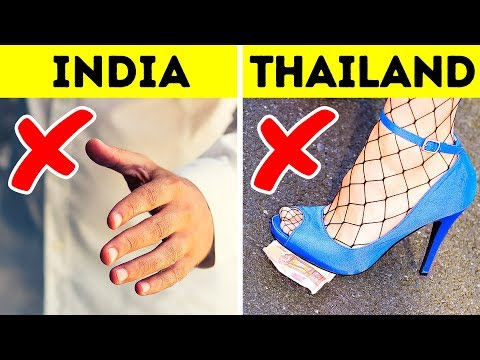 Don't Try Doing These 15 Things in Other Countries