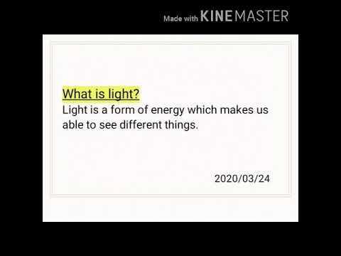 Light (SCIENCE)