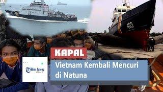 5 Kapal Ikan Vietnam Kembali Mencuri di Natuna, Menteri Kelautan dan Perikanan Beri Apresiasi Tim