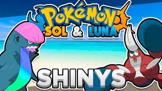 Stufful  - (Pokémon) - CRABRAWLER, GUMSHOOS, WISHIWASHI, MUDBRAY y STUFFUL SHINY - Pokemon Sol y Luna Diseños Shiny