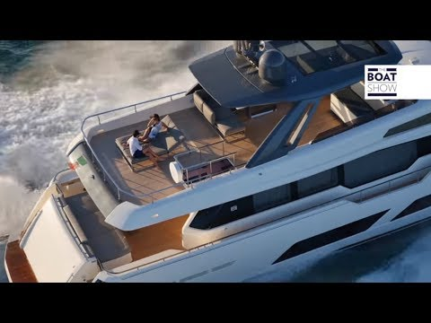 [ENG] FERRETTI YACHTS  850 – 4K Review – The Boat Show
