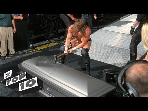 Download Trapped Superstars getting smashed: WWE Top 10, Sept. 17, 2018 HD Mp4 3GP Video and MP3