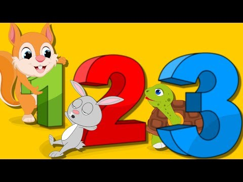 Lagu 123 Kanak-Kanak | Satu Dua Tiga Empat | 123 Bahasa Melayu l Lagu Nombor