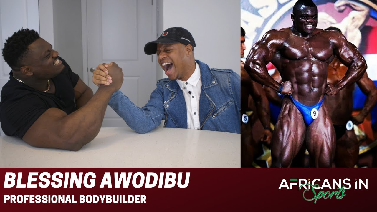 Blessing Awodibu | Nigerian Bodybuilder is Working To Bring Humor Into The Sport