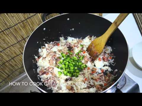 Chinese Seafood Fried Rice Recipe