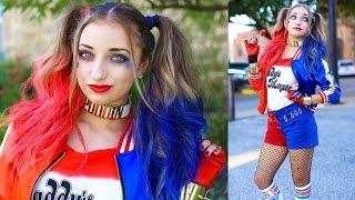 Harley Quinn Pigtails | DIY Halloween Costumes | DIY Halloween Hairstyles