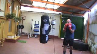 entrenamiento boxeo solo