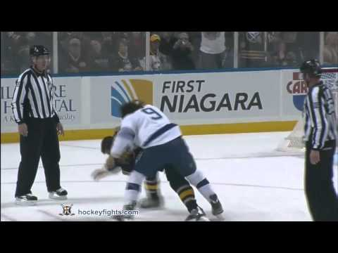 Steve Downie vs Patrick Kaleta