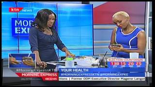 Your Health: How to prepare a healthy smoothie with nutritionist blogger and Author-Teresa Nzomo