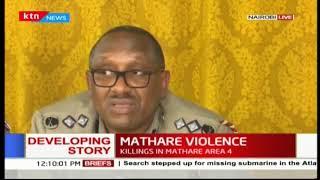 Police Commander-Japheth Koome assures Kenyans of peace after Supreme Court ruling