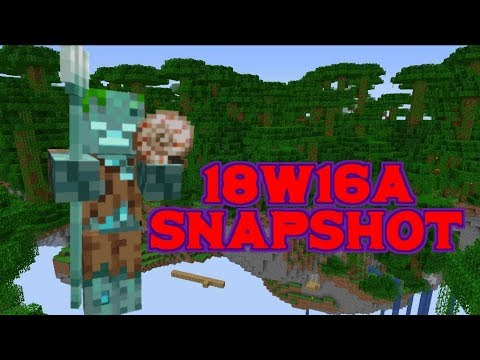 18w16a Snapshot- Buffet worlds and Tweaks