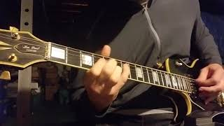 Easy Livin' - Fastway Guitar Cover