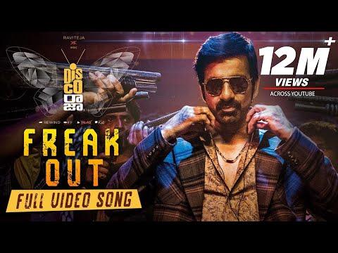 Freak Out Lyrical Video Song - Disco Raja