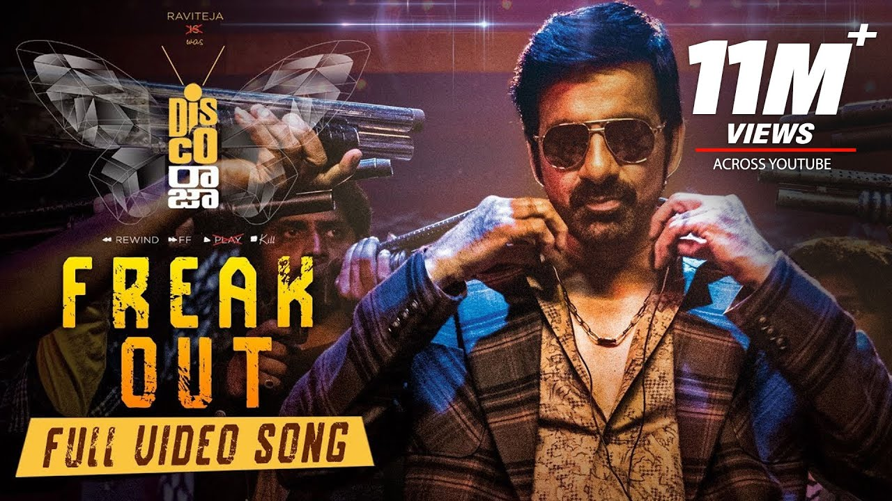 Freak Out Lyrical Video Song from Disco Raja