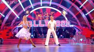 Michael Vaughan & Natalie Lowe Cha Cha to 'Hot Stuff' - Strictly Come Dancing 2012 - BBC One