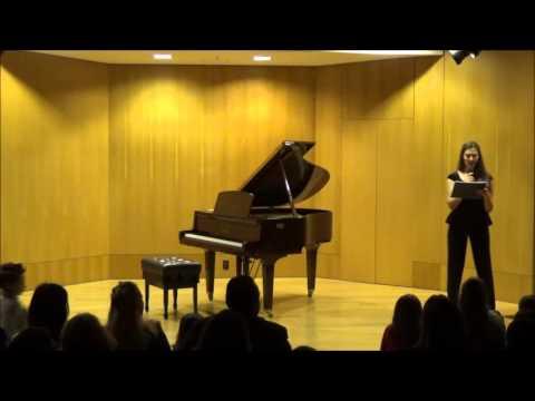 Ετήσια Μαθητική Συναυλία 18-03-2016 Μέρος α'
