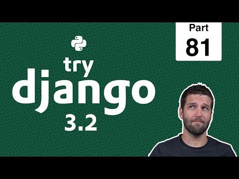 81- CI & CD For Django + Github + DigitalOcean - Python & Django 3.2 Tutorial Series thumbnail