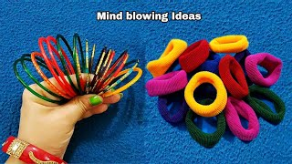 3-superb-craft-ideas-for-home-decor-using-waste-bangles-and-hair-bands