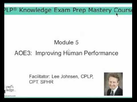 ASTD CPLP: Improving Human Performance - HPI (CPLP Mastery ...