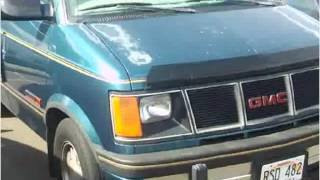 preview picture of video '1993 GMC Safari Used Cars Pearl City HI'