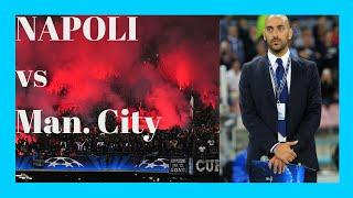 preview picture of video 'Decibel Bellini speaker San Paolo Napoli vs Manchester City Champions League'