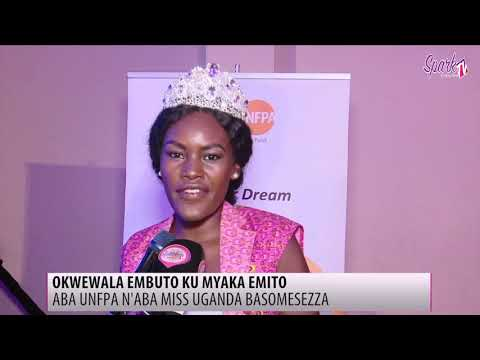 Aba Miss Uganda basomesa bavubuka okwewala okufuna embuto
