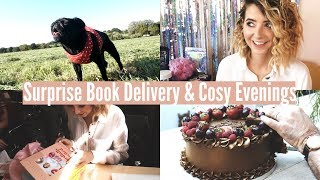 SURPRISE BOOK DELIVERY & COSY EVENINGS   WEEKLY VLOG